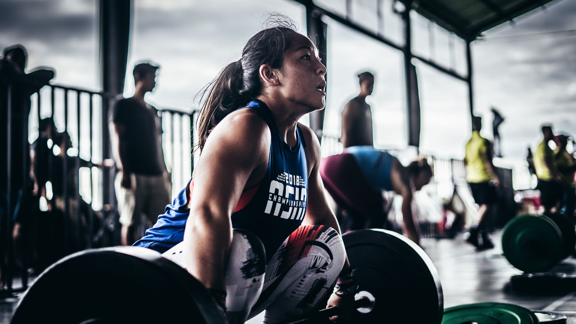 CrossFit Competition Lift